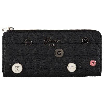 Afbeelding van Guess SWVG6988520 dames portemonnee zwart
