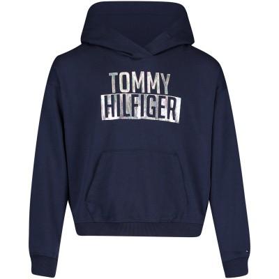 Picture of Tommy Hilfiger KG0KG04039 kids sweater navy