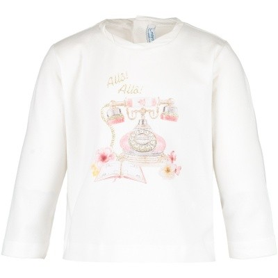 Afbeelding van Mayoral 2050 baby t-shirt off white