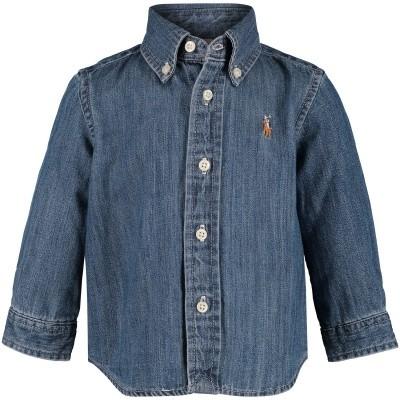 Afbeelding van Ralph Lauren 320713843 baby blouse donker blauw