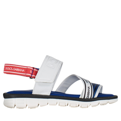 Picture of Dolce & Gabbana DN0116 kids sandals white