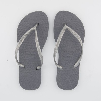 Picture of Havaianas 4000030 womens flipflops silver
