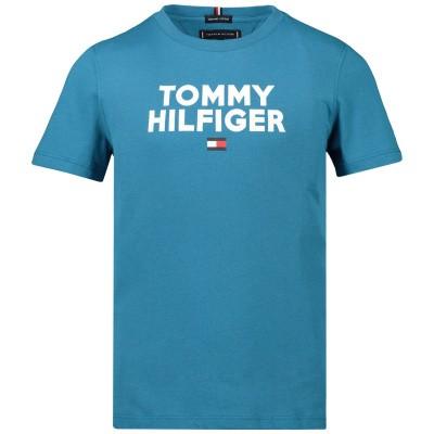 Afbeelding van Tommy Hilfiger KB0KB04992 kinder t-shirt blauw