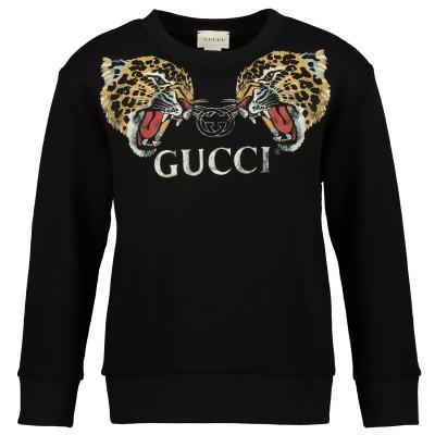 Afbeelding van Gucci 547560 kindertrui zwart