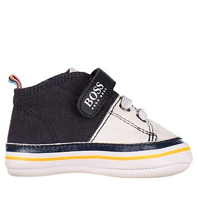 Picture of Boss J99065 baby shoes navy