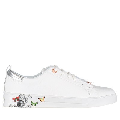 Picture of Ted Baker 918192 womens sneakers white
