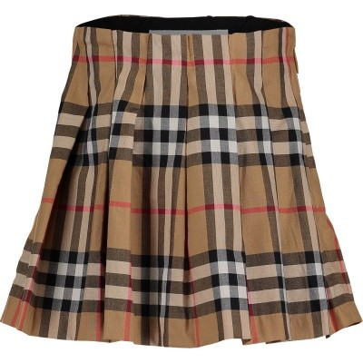 Picture of Burberry 8005325 baby skirt beige
