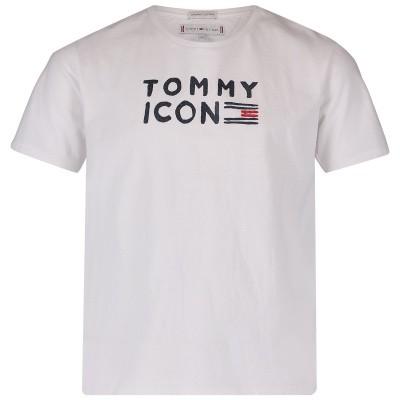 Afbeelding van Tommy Hilfiger KG0KG04392 kinder t-shirt wit