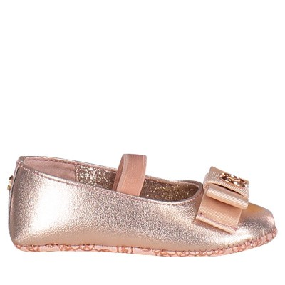 Picture of Michael Kors ZIA BABY ANTIOPE baby shoes light pink