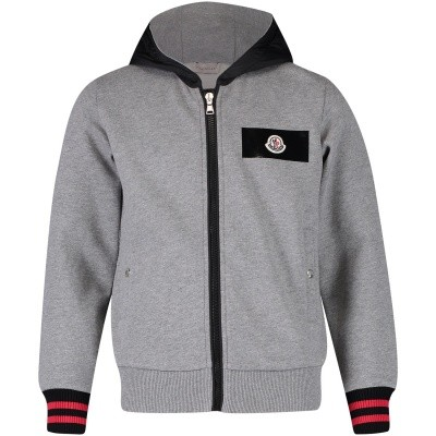 Picture of Moncler 8414450 kids vest grey