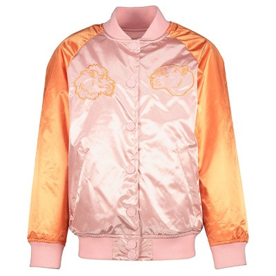 Picture of Kenzo KN41038 kids jacket pink