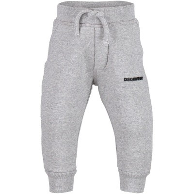 Picture of Dsquared2 DQ02FD baby sweatsuit grey