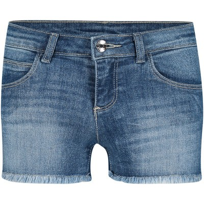 Picture of Liu Jo G19002 kids shorts jeans
