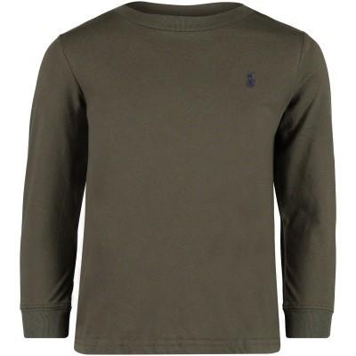 Afbeelding van Ralph Lauren 321703642 kinder t-shirt army