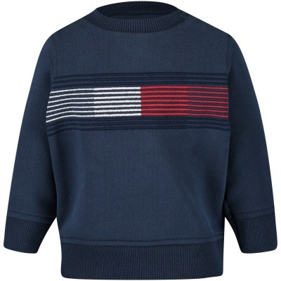 Picture of Tommy Hilfiger KB0KB04233B baby sweater navy