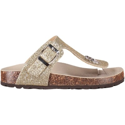 Picture of EB 1731-A13 kids flipflop gold