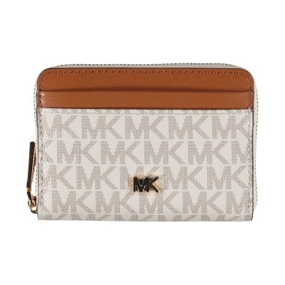 Picture of Michael Kors 32F8GF6Z1B womens wallet off white