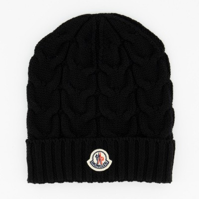Picture of Moncler 0011005 kids hat black