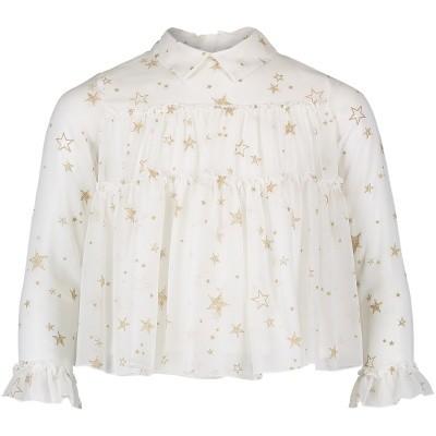 Afbeelding van Mayoral 4128 kinder overhemd off white