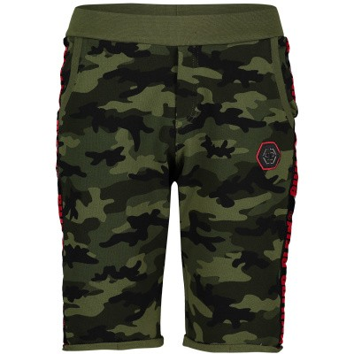 Picture of Philipp Plein BJT0225 kids shorts army