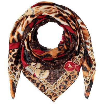 Afbeelding van Guess AW8050VIS03 dames sjaal panter