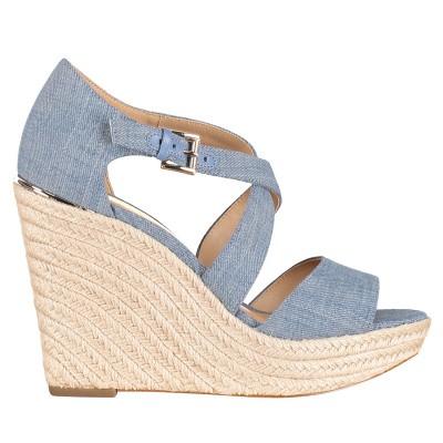 Afbeelding van Michael Kors 40S9ABHS1D dames sandalen jeans