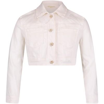 Afbeelding van MonnaLisa 793101R3 kinderjas off white