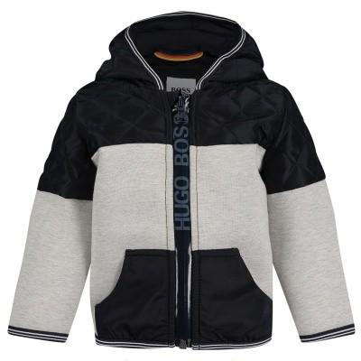 Afbeelding van Boss J06179 baby vest grijs