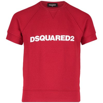 Picture of Dsquared2 DQ03FS kids sweater red