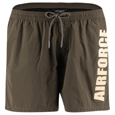 Picture of Airforce M0553 mens swimshorts army