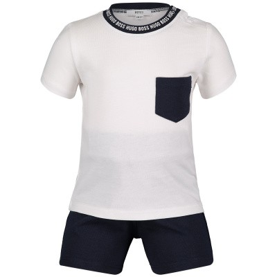 Picture of Boss J98243 baby set navy