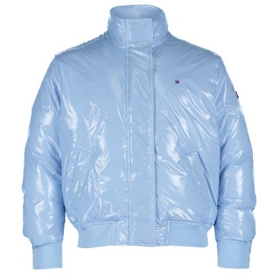Picture of Tommy Hilfiger KG0KG03999 kids jacket light blue