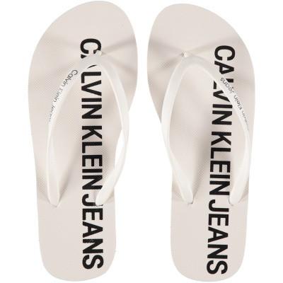Afbeelding van Calvin Klein DORI dames slippers wit