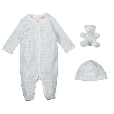 Picture of Ralph Lauren 744225 baby playsuit light blue