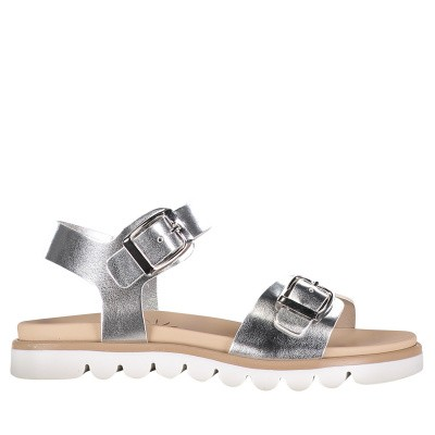 Picture of EB 0204 kids sandals silver