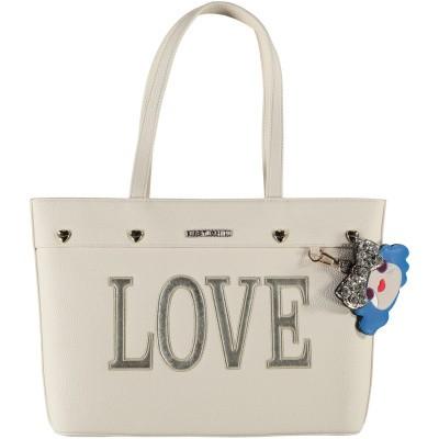Afbeelding van Moschino JC4253 dames tas off white
