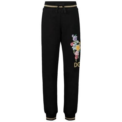 Afbeelding van Dolce & Gabbana L5JP4P kinderbroek zwart