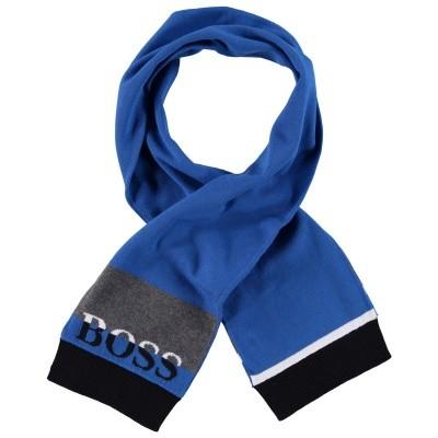 Afbeelding van Boss J01094 baby sjaal cobalt blauw