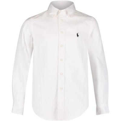 Afbeelding van Ralph Lauren 323600259 kinder overhemd wit