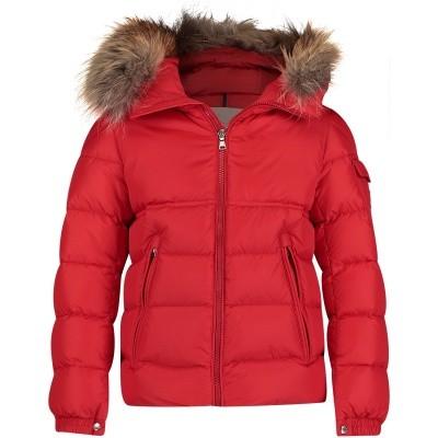 Afbeelding van Moncler 4187625 kinderjas rood