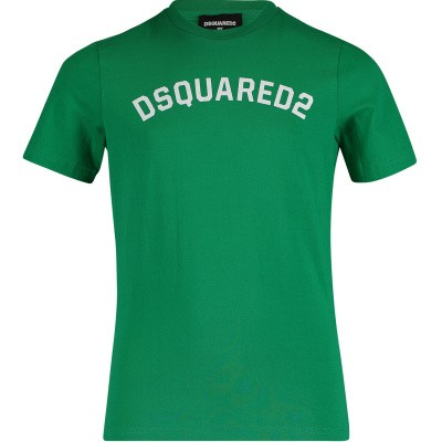 Picture of Dsquared2 DQ039Y kids t-shirt green