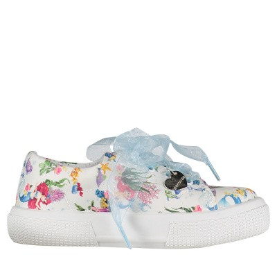 Picture of MonnaLisa 8C3011 kids sneakers white