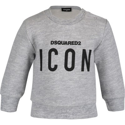 Picture of Dsquared2 DQ03G3 baby sweater grey