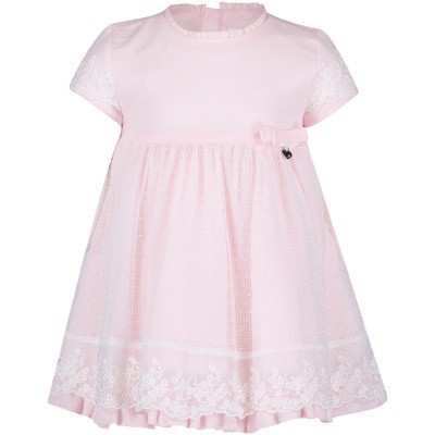 Picture of Mayoral 1825 baby dress light pink