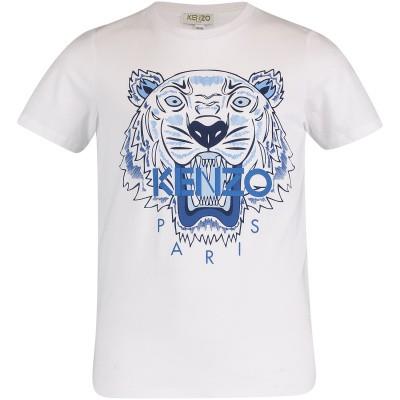 Afbeelding van Kenzo KN10738 kinder t-shirt wit
