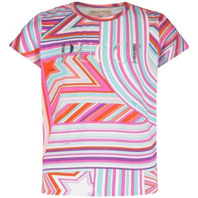 Afbeelding van Pucci 9K8031 kinder t-shirt fuchsia