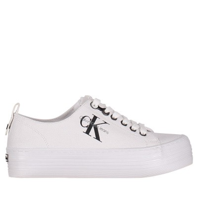 Picture of Calvin Klein ZOLAH womens sneakers white