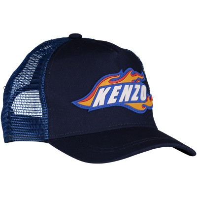 Picture of Kenzo KN90518 kids cap blue