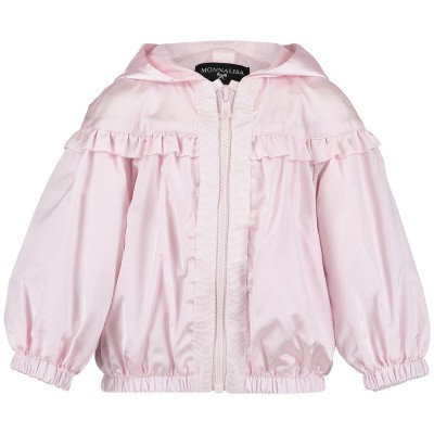 Picture of MonnaLisa 393101 baby coat light pink