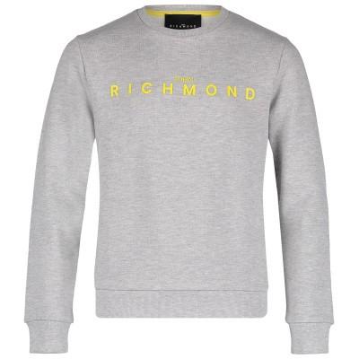 Picture of John Richmond RBP19017 kids sweater grey